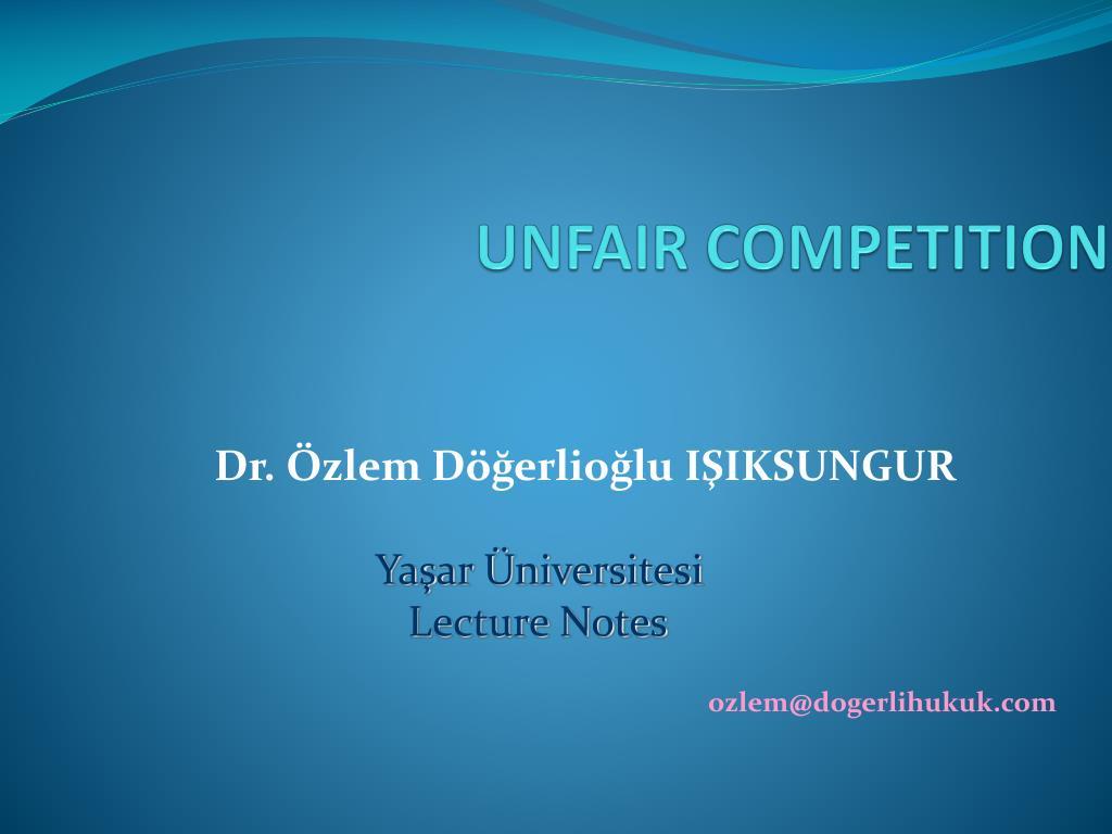 unfair competition l.