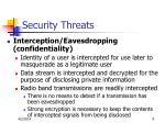 security threats9