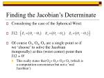 finding the jacobian s determinate8