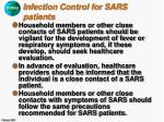 infection control for sars patients22