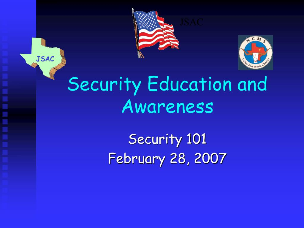 security education and awareness l.