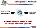 convergence of two trends