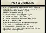 project champions