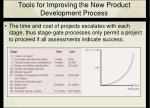 tools for improving the new product development process15