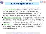 key principles of ngn