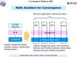 ngn enablers for convergence