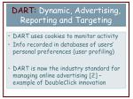 dart dynamic advertising reporting and targeting