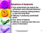 symptoms of dyspraxia16