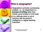 what is dysgraphia29