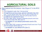 agricultural soils76