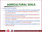 agricultural soils79