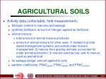 agricultural soils82