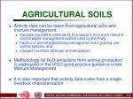 agricultural soils84