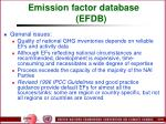 emission factor database efdb96