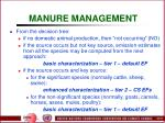 manure management59