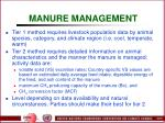 manure management60
