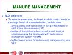 manure management64