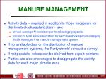 manure management66