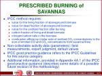 prescribed burning of savannas70