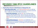 revised 1996 ipcc guidelines25