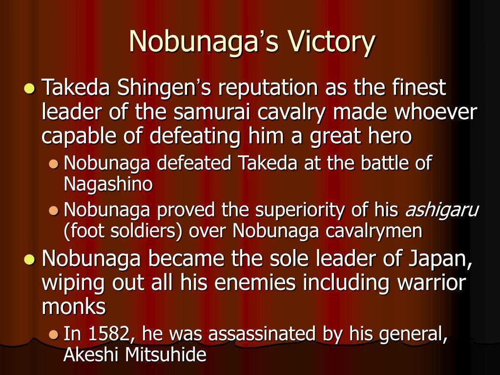 nobunaga s victory l.