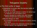 tokugawa ieyashu