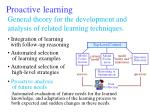 proactive learning49