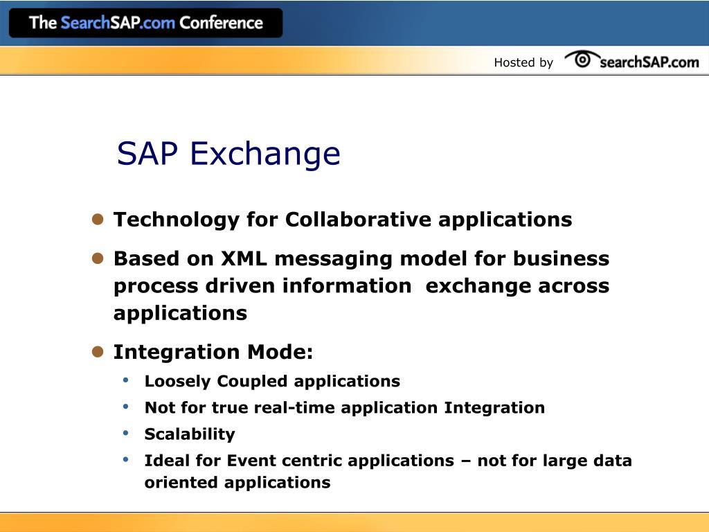SAP Exchange