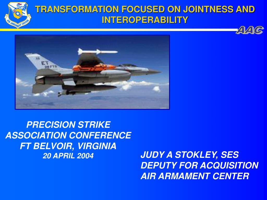 transformation focused on jointness and interoperability l.