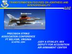 transformation focused on jointness and interoperability