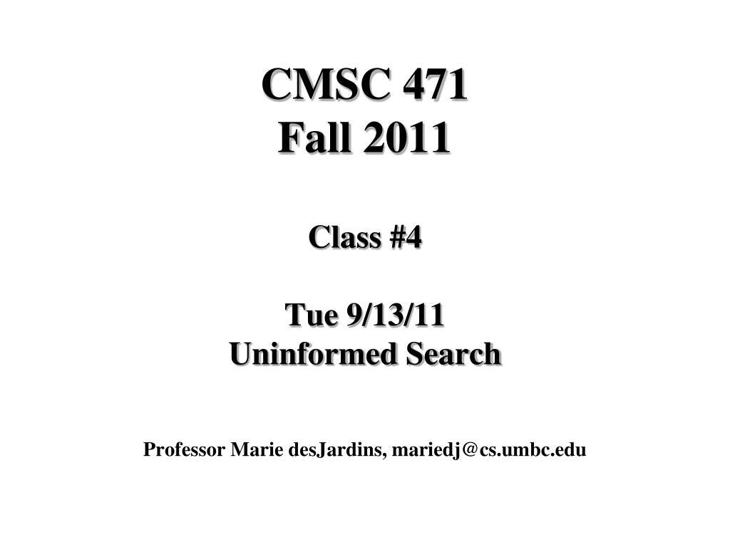 professor marie desjardins mariedj@cs umbc edu l.