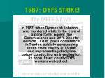 1987 dyfs strike