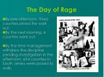 the day of rage