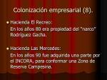 colonizaci n empresarial 8