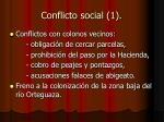 conflicto social 1