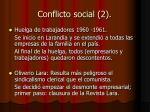 conflicto social 2