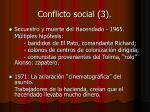 conflicto social 3