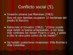 conflicto social 5