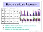 reno style loss recovery