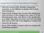 assigning formats to nonadjacent ranges40