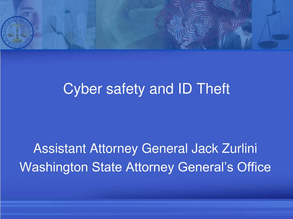 cyber safety and id theft l.