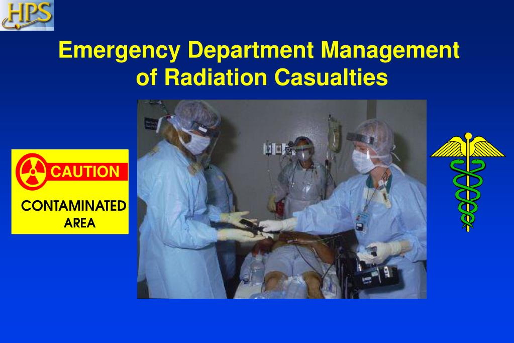 emergency department management of radiation casualties l.