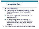 canadian law8