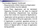 termination appeal continued14