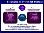 developing an overall job strategy