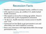 recession facts