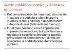 servizi pubblici economici o di interesse economico4