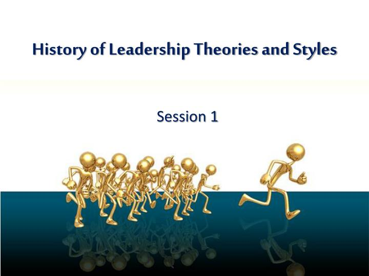 leadership theories taxonomy final Download file taxonomy of leadership theories to see previous pages the leader should step in clarifying ambiguous tasks, giving employees some control and instilling cohesion and comradeship to a non-supportive team leaders choose an appropriate behavior or style.