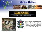 medical metrics