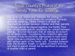 troup county s protocol family time for siblings